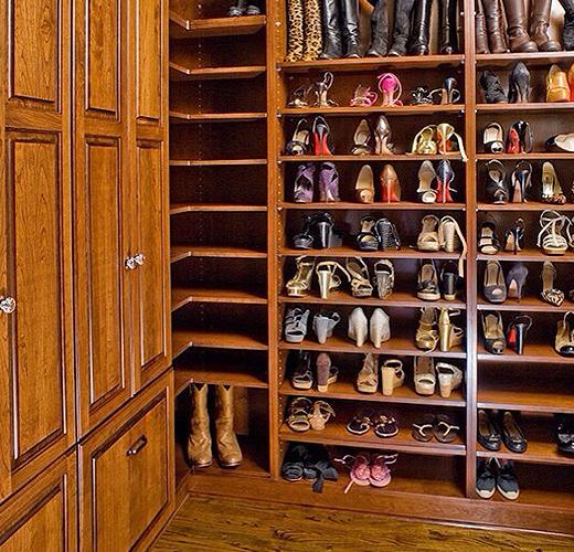 再也不怕鞋多